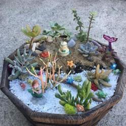 Cute Fairy Garden Design Ideas 28