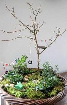 Cute Fairy Garden Design Ideas 30