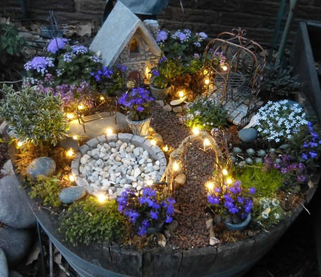 Cute Fairy Garden Design Ideas 42