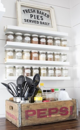 Easy DIY Kitchen Storage Ideas For Your Kitchen 07