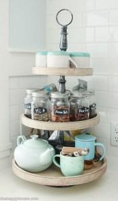 Easy DIY Kitchen Storage Ideas For Your Kitchen 22