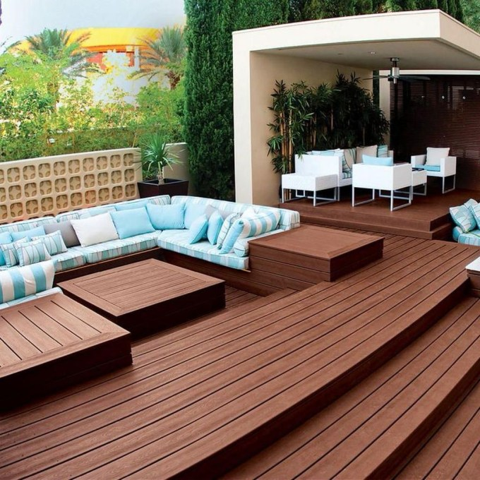 Easy DIY Wooden Deck Design For Your Home 01