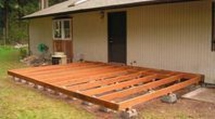Easy DIY Wooden Deck Design For Your Home 08
