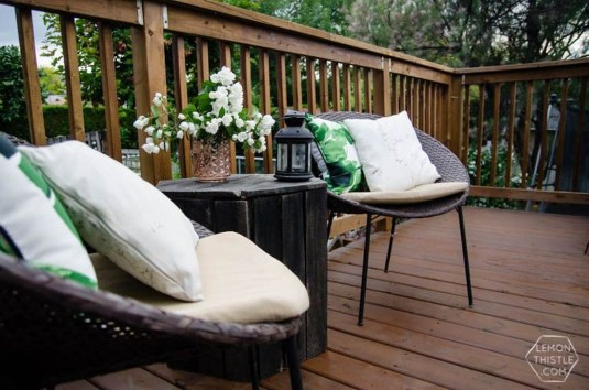 Easy DIY Wooden Deck Design For Your Home 16