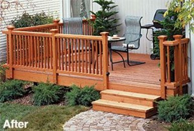 Easy DIY Wooden Deck Design For Your Home 22
