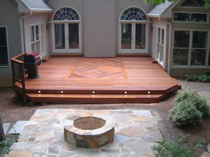 Easy DIY Wooden Deck Design For Your Home 31
