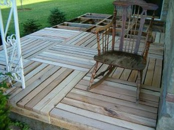 Easy DIY Wooden Deck Design For Your Home 36