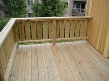 Easy DIY Wooden Deck Design For Your Home 39