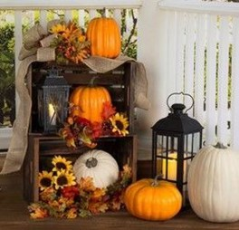 Easy Fall Porch Decoration Ideas To Make Unforgettable Moments 30