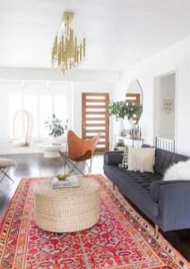Elegant Bohemian Style Living Room Decoration Ideas 12