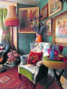 Elegant Bohemian Style Living Room Decoration Ideas 13