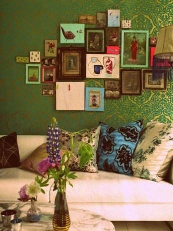 Elegant Bohemian Style Living Room Decoration Ideas 41