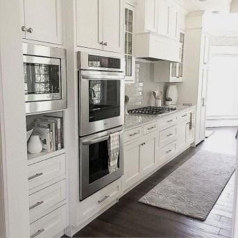 Elegant White Kitchen Cabinets For Your Kitchen 24