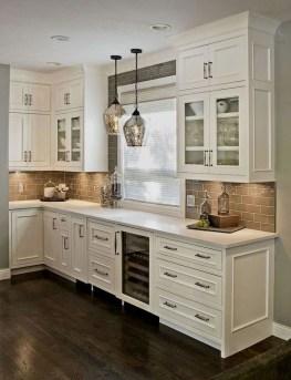Elegant White Kitchen Cabinets For Your Kitchen 26