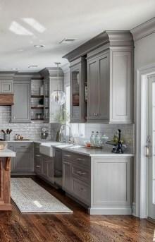 Elegant White Kitchen Cabinets For Your Kitchen 27