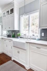 Elegant White Kitchen Cabinets For Your Kitchen 31