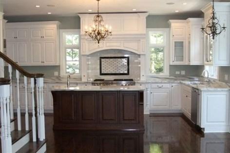 Elegant White Kitchen Cabinets For Your Kitchen 37