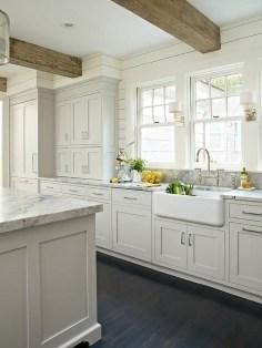 Elegant White Kitchen Cabinets For Your Kitchen 38
