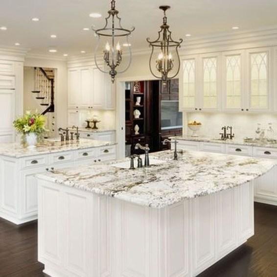Elegant White Kitchen Cabinets For Your Kitchen 48