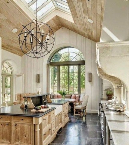 Fancy French Country Kitchen Design Ideas 06