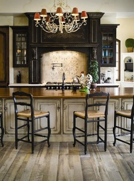 Fancy French Country Kitchen Design Ideas 15