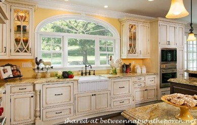 Fancy French Country Kitchen Design Ideas 21