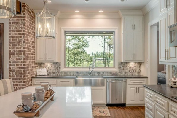 Fancy French Country Kitchen Design Ideas 42