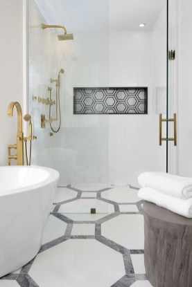 Luxurious Tile Shower Design Ideas For Your Bathroom 24