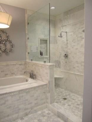Luxurious Tile Shower Design Ideas For Your Bathroom 25