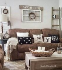 Modern Farmhouse Living Room Design Ideas 10