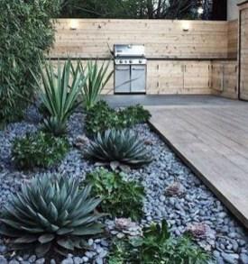 Relaxing Modern Rock Garden Ideas To Make Your Backyard Beautiful 01