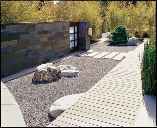 Relaxing Modern Rock Garden Ideas To Make Your Backyard Beautiful 26