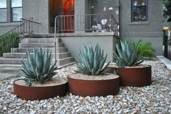 Relaxing Modern Rock Garden Ideas To Make Your Backyard Beautiful 29