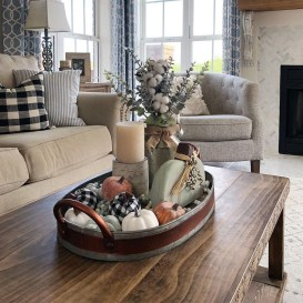 Stunning Fall Living Room Decoration Ideas 30