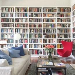 Stylish Bookshelves Design Ideas For Your Living Room 40