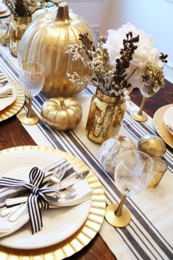 The Best Ideas For Thankgiving Table Decorations 47