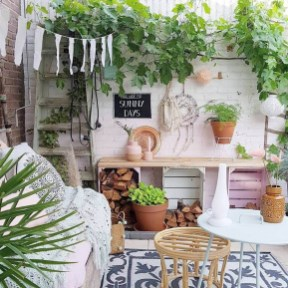 Awesome Bohemian Style Ideas For Outdoor Design 04