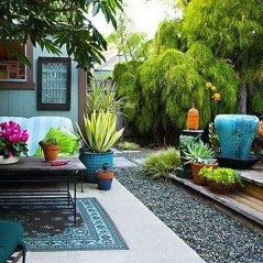 Awesome Bohemian Style Ideas For Outdoor Design 39