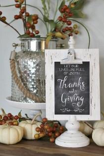Beautiful Thanksgiving Table Decoration Ideas 04
