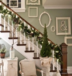 Best Christmas Decorations That Turn Your Staircase Into A Fairy Tale 54