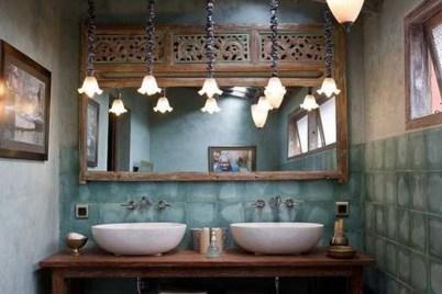 Brilliant Bohemian Style Ideas For Bathroom 01