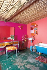 Brilliant Bohemian Style Ideas For Bathroom 05