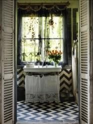 Brilliant Bohemian Style Ideas For Bathroom 13