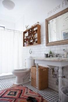 Brilliant Bohemian Style Ideas For Bathroom 32
