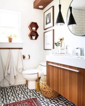 Brilliant Bohemian Style Ideas For Bathroom 34