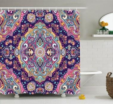 Brilliant Bohemian Style Ideas For Bathroom 35