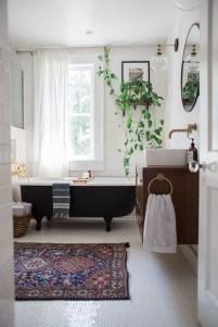 Brilliant Bohemian Style Ideas For Bathroom 38