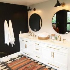 Brilliant Bohemian Style Ideas For Bathroom 48