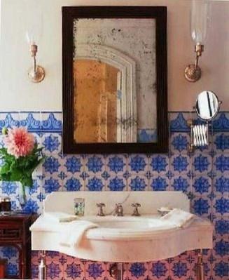 Brilliant Bohemian Style Ideas For Bathroom 52