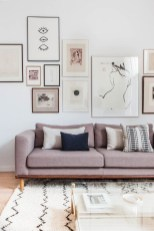 Brilliant Living Room Wall Gallery Design Ideas 39